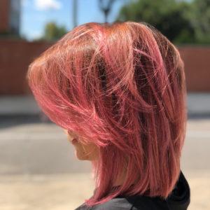 cabello rosa champagne _2
