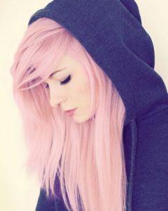 cabello rosa pastel _1