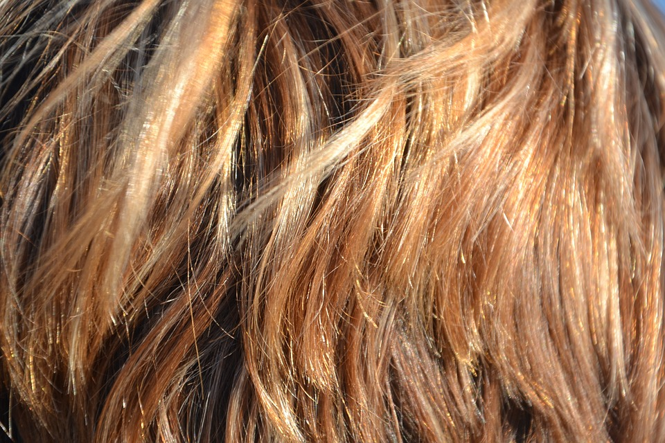 capas de pelo con extensiones