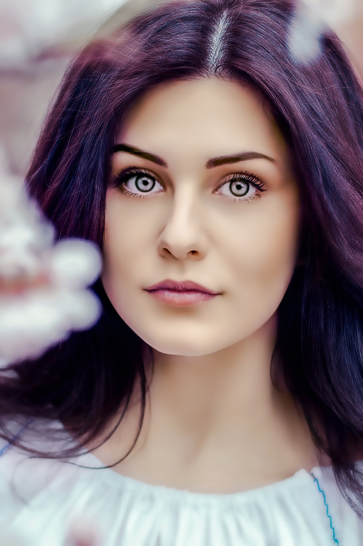 cabello violeta 19